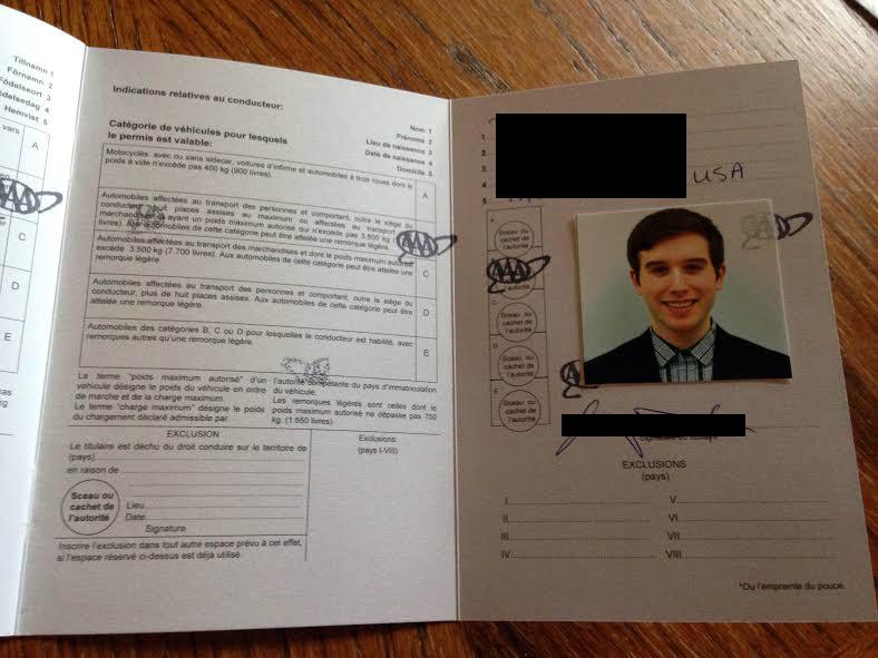 Applying for an International Driving Permit (IDP) – KS2SK